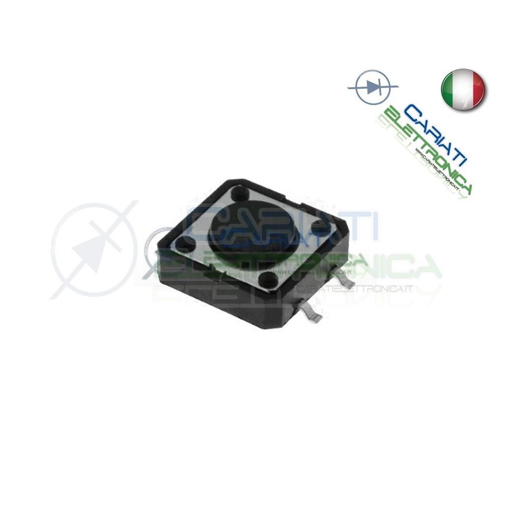 10 PEZZI MINI MICRO PULSANTE 12x12x8 mm PCB Tactile Switch