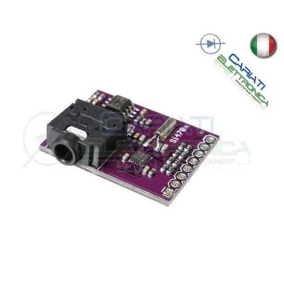 Scheda modulo Si4703 sintonizzatore radio FM RDS per Arduino  9,90€