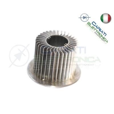 Dissipatore Aletta Raffreddamento Alluminio 56x48 mm  2,90€