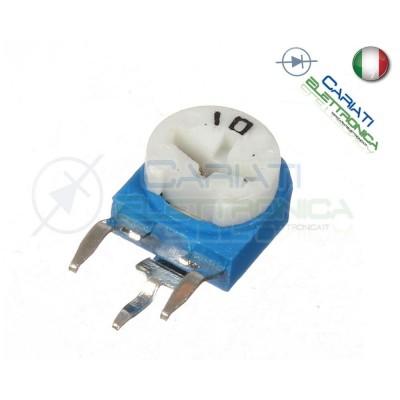 5 pezzi Potenziometro Trimmer Resistenza Variabile 50k ohm 50kohm 1,00 €