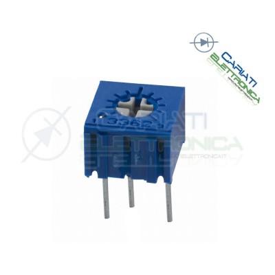 2 pezzi Potenziometro Trimmer 3362P 50 ohm 50ohm