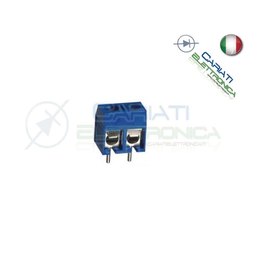 10 PEZZI Morsettiera Morsetti 2 Poli H 12,5mm Connettori  3,50€