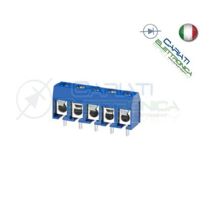 50 PEZZI Morsettiera Morsetti 5 Poli H 12,5mm Connettori