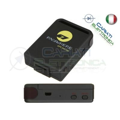 GPS TRACKER TK-106 ANTIFURTO AUTO LOCALIZZATORE SATELLITARE ANYWHERE  36,99€