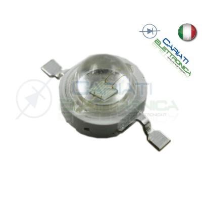 10 PEZZI Led Power ROSSO 1W 1 Watt 350mA 30 lumen lm