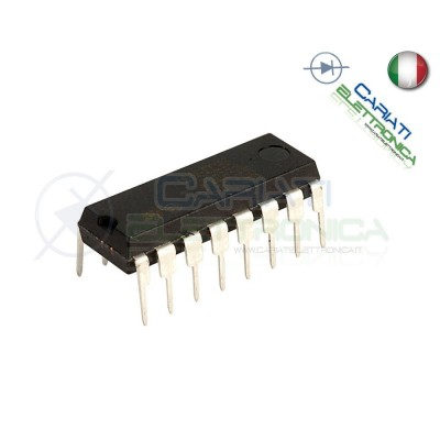 2 PEZZI ULN2004 A Array 7 Transistor Darlington ST MICROELECTRONICS SGS-THOMSON 1,00 €