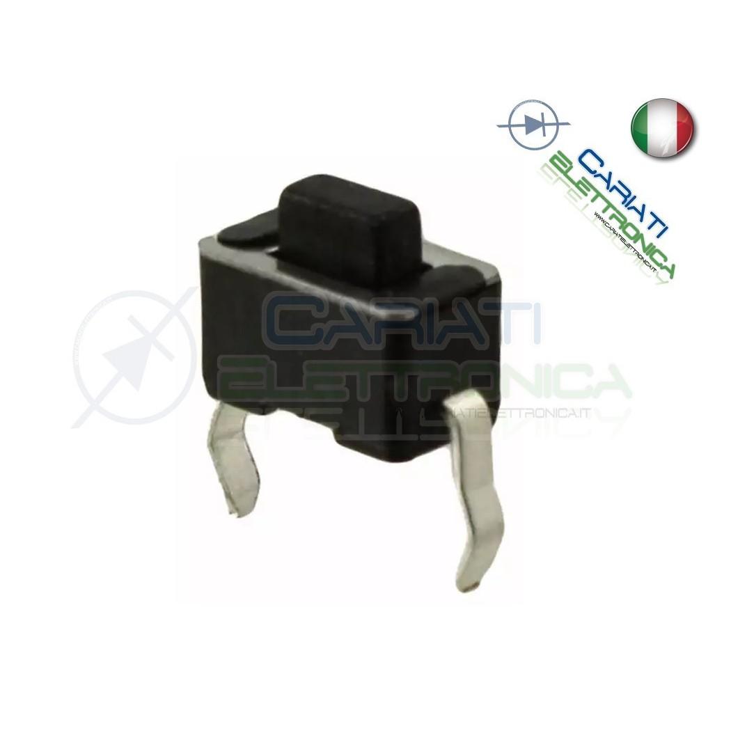 50 MINI MICRO PULSANTE 6x3x5 mm PCB Tactile Switch