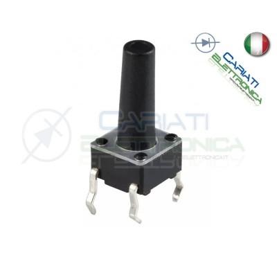 50 MINI MICRO PULSANTE 6X6X19 mm PCB Tactile Switch  6,00€