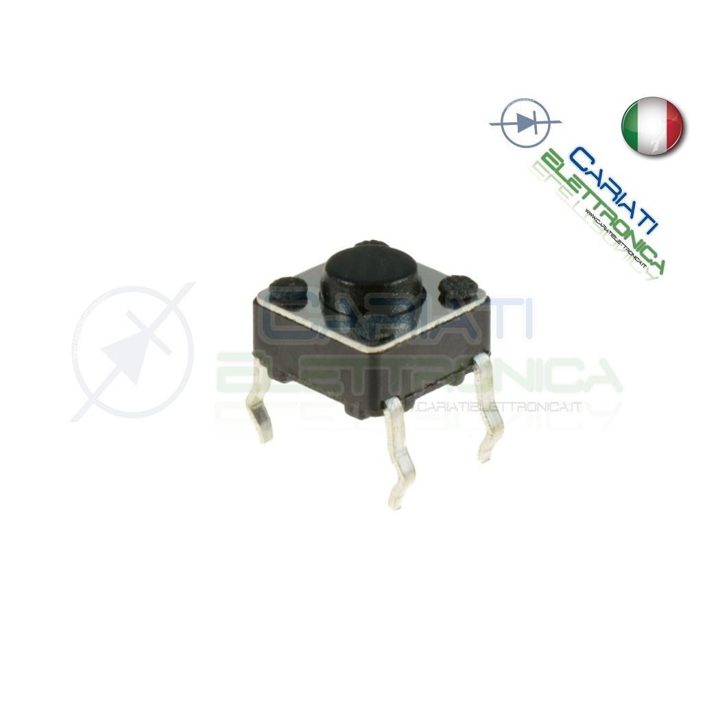 10 MINI MICRO PULSANTE 4.5X4.5X3.8 mm PCB Tactile Switch