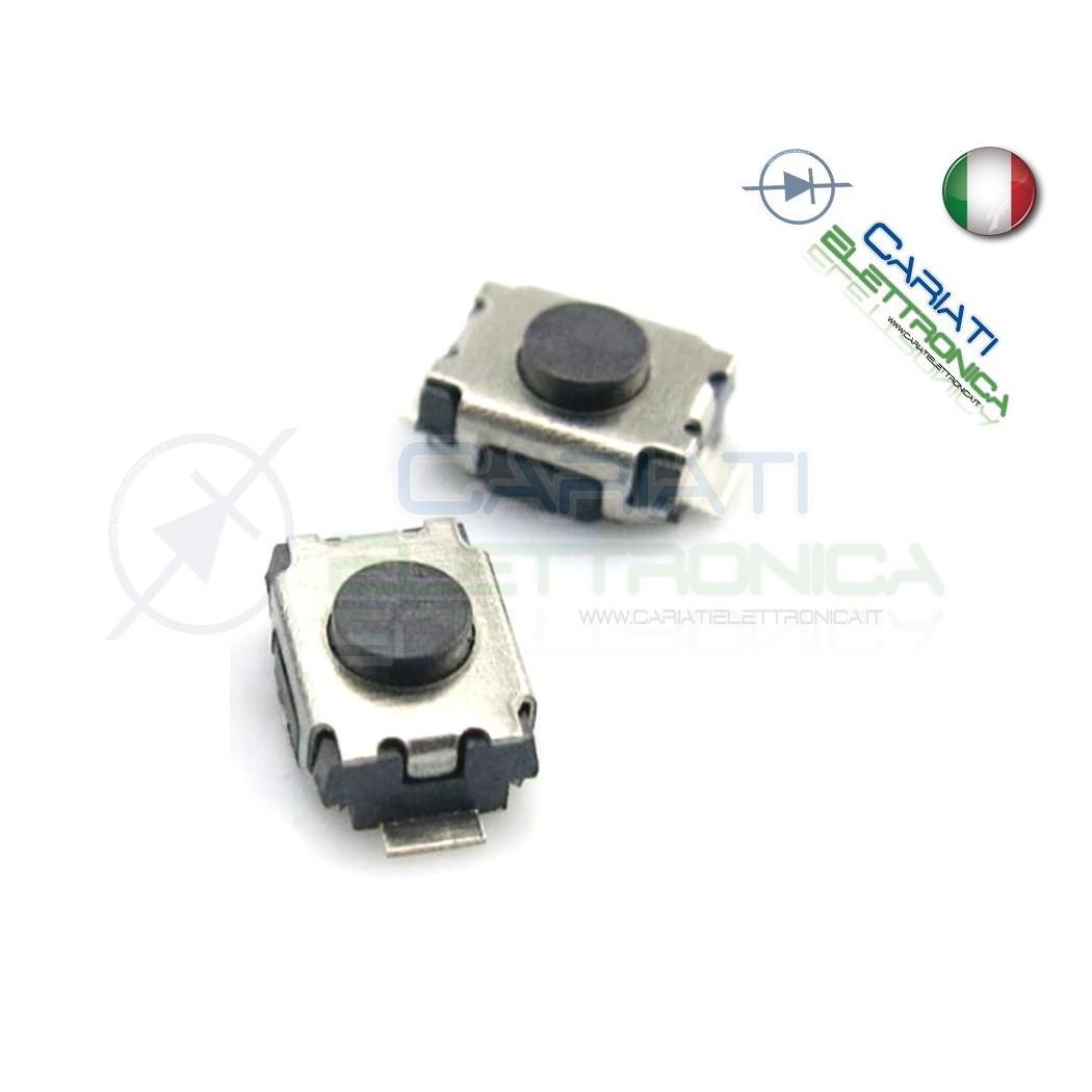 10 PEZZI MINI MICRO PULSANTE 3x4x2 mm PCB Tactile Switch