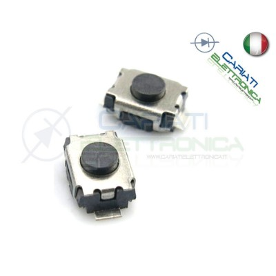 50 PEZZI MINI MICRO PULSANTE 3x4x2 mm PCB Tactile Switch