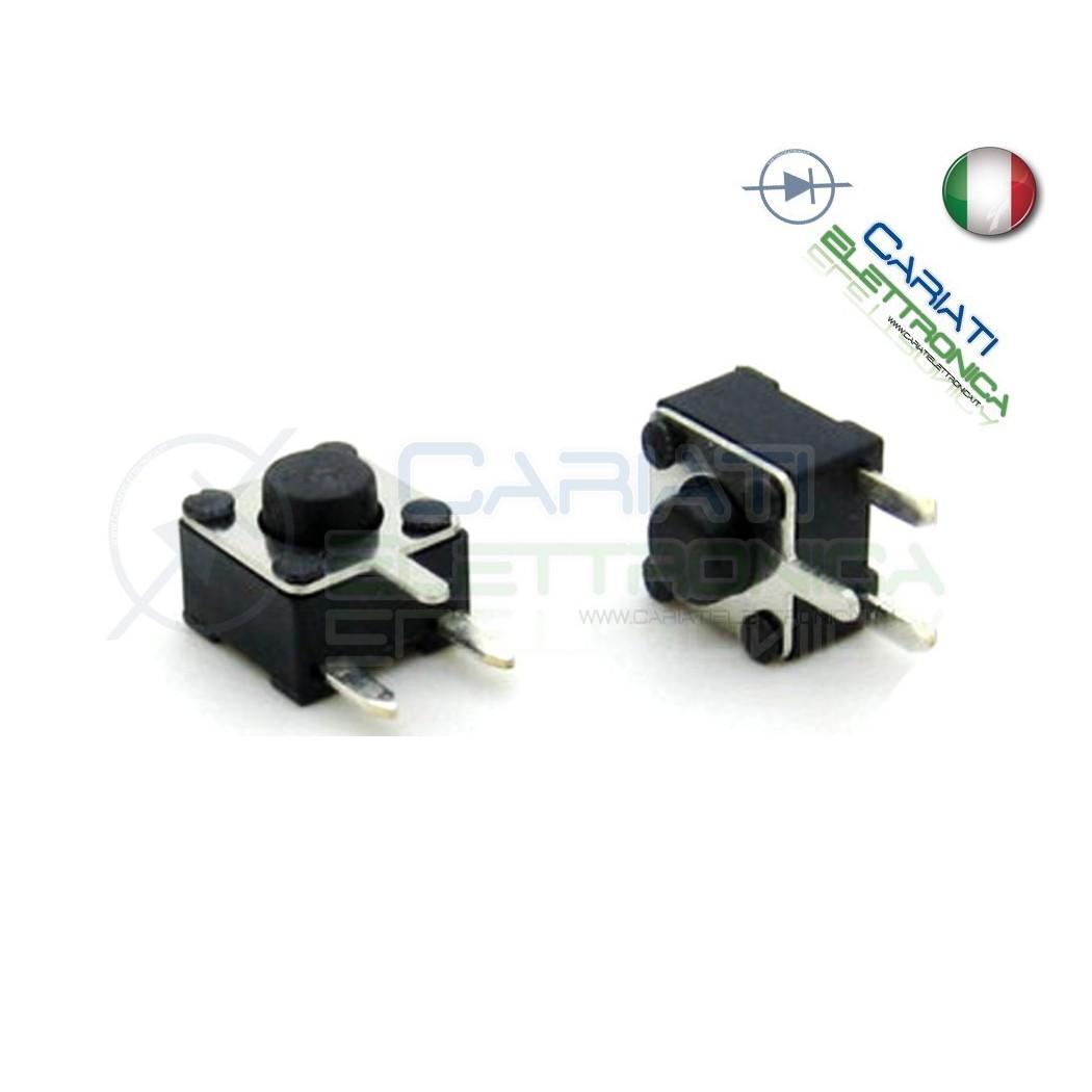50 MINI MICRO PULSANTE 4.5X4.5X3.8 mm PCB Tactile Switch