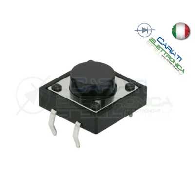 50 PEZZI MINI MICRO PULSANTE 12x12x13 mm PCB Tactile Switch  6,00 €