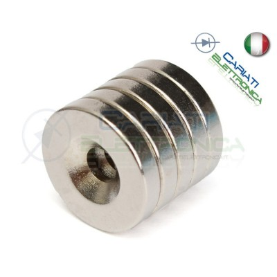 20 Pezzi CALAMITE MAGNETI NEODIMIO 10x3 mm POTENTI FIMO CERAMICA BOMBONIERE  5,90€