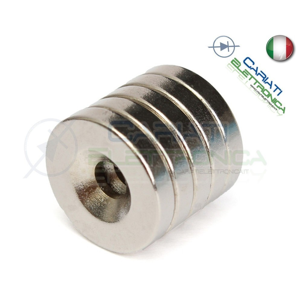 100 Pezzi CALAMITE MAGNETI NEODIMIO 10x3 mm POTENTI FIMO CERAMICA BOMBONIERE  18,90€