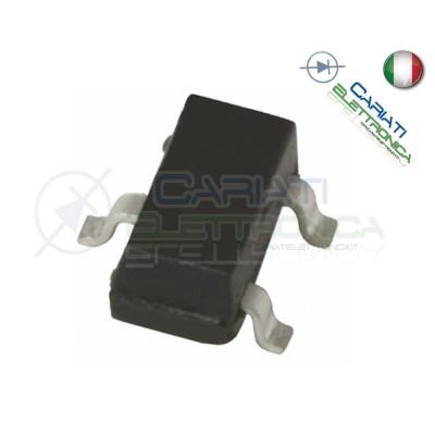 10 PEZZI 2N3904 Transistor NPN 40V 0,2A MMBT 3904 1AM SOT-23Generico