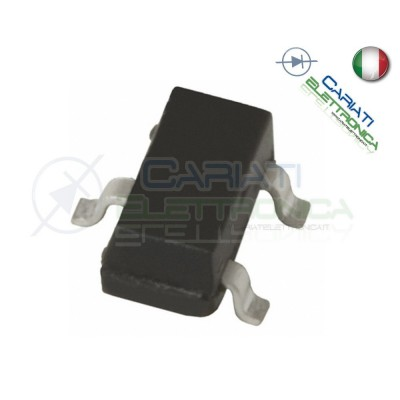 5 PEZZI 2N3904 Transistor NPN 40V 0,2A MMBT 3904 1AM SOT-23 Generico