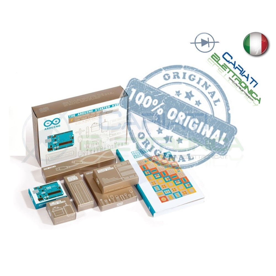 Arduino Starter Kit con GUIDA in Italiano Arduino 860,00 €
