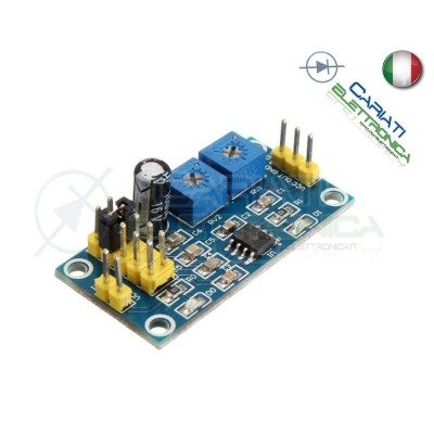 Scheda Generatore di impulsi con frequenza e duty cycle variabile NE555  3,19 €