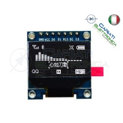 "MODULO DISPLAY 0.96"" OLED LCD LED 128X64 ARDUINO  5,49 €"