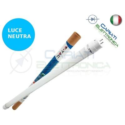 TUBO NEON A LED V-TAC 60CM T8 G13 LUCE BIANCO NEUTRO 4500K 10W 800Lm SKU 6230