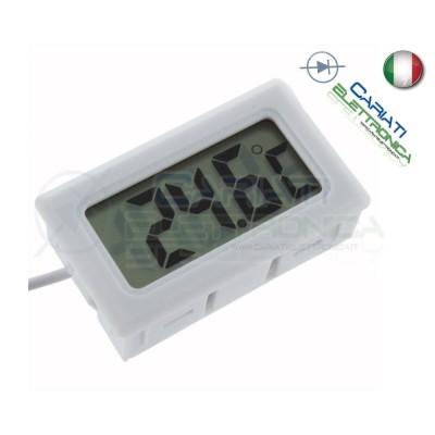 TERMOMETRO DIGITALE LCD CON SONDA ACQUARIO FRIGO MISURA TEMPERATURA AMBIENTE  3,49€