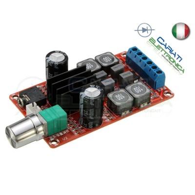 Audio amplifier TPA3116D2 TPA3116 2x50W DualGenerico