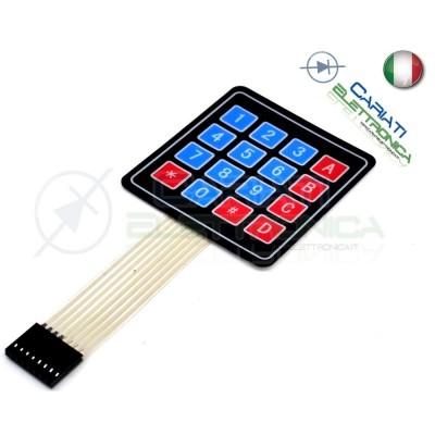 Tastiera Adesiva Numerica a Membrana 4x4 16 tasti pulsanti keypad 2,00 €