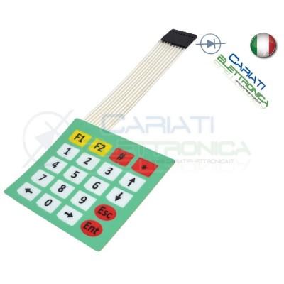 Tastiera Numerica a Membrana 5x4 20 tasti pulsanti keypadCariati Elettronica