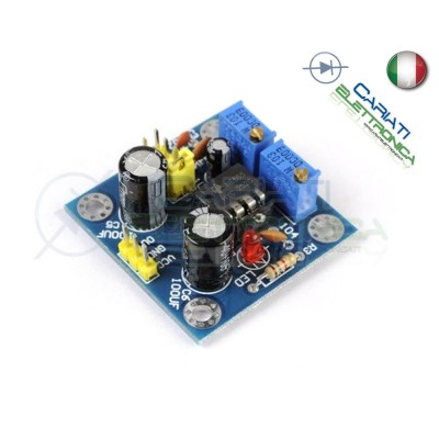 Scheda Generatore di impulsi con frequenza e duty cycle variabile NE555 Generico