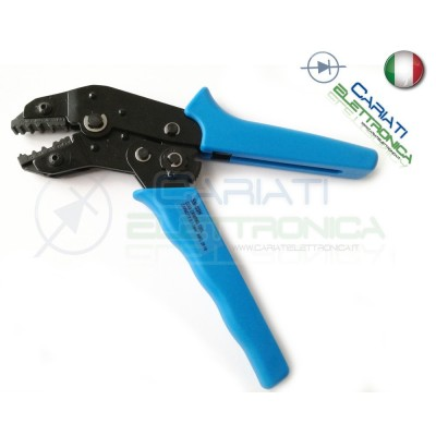 PINZA TOOL PER CRIMPARE CRIMPATRICE CONNETTORE CAVO COASSIALE RG58 RG59 VIDEO  20,49 €