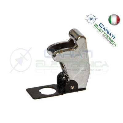 COVER INTERRUTTORE A LEVA CROMATO CHROME Missile Style Toggle Switch Flick  2,70 €