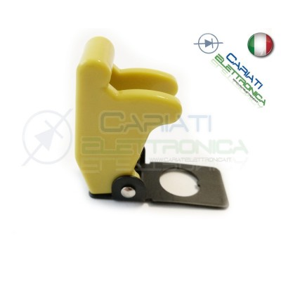 COVER INTERRUTTORE A LEVA GIALLO SENAPE Missile Style Toggle Switch Flick