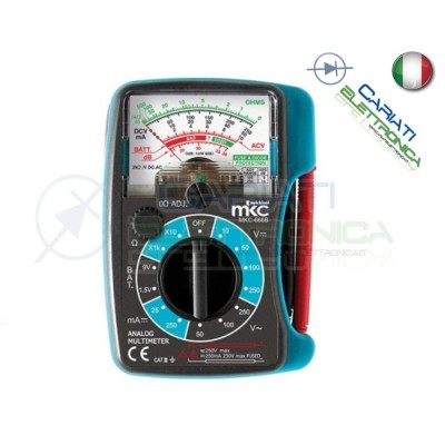 MULTIMETRO TESTER ANALOGICO TASCABILE MKC-666B MKC