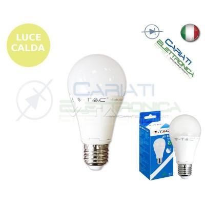 LAMPADA LAMPADINA LED V-TAC E27 10W VT-1853 LUCE CALDA 806Lm 2700k SKU 4227 3,40 €