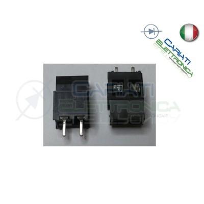 10 PEZZI Morsettiera Morsetti 2 Poli H 15 mm Connettori