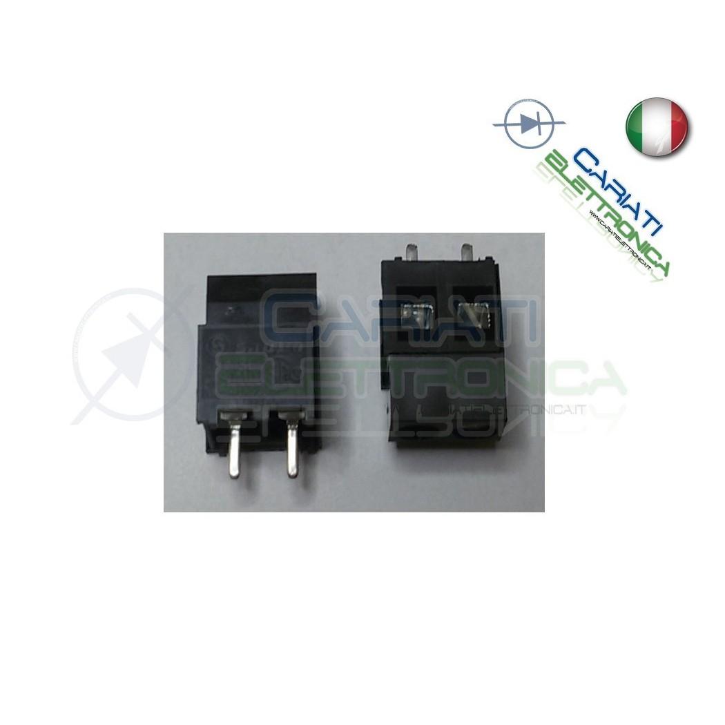 10 PEZZI Morsettiera Morsetti 2 Poli H 15 mm Connettori  4,00€