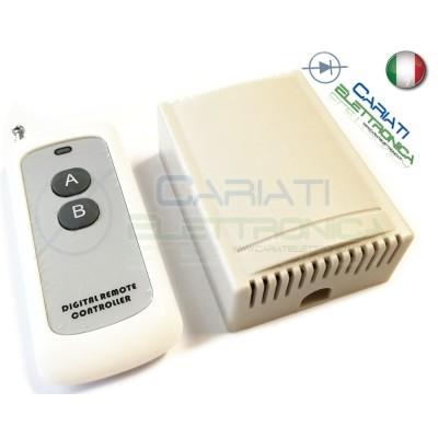 Scheda Ricevente Ricevitore 12V 433 Mhz 2 Relè Canali con Telecomando