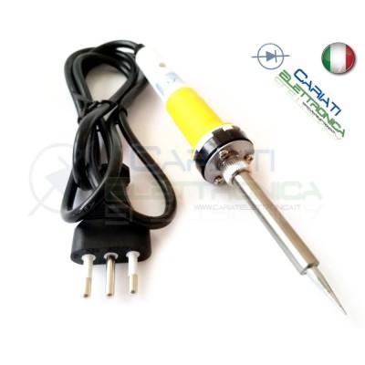 SALDATORE STILO STAGNO 30W 230Vac con Spina italiana