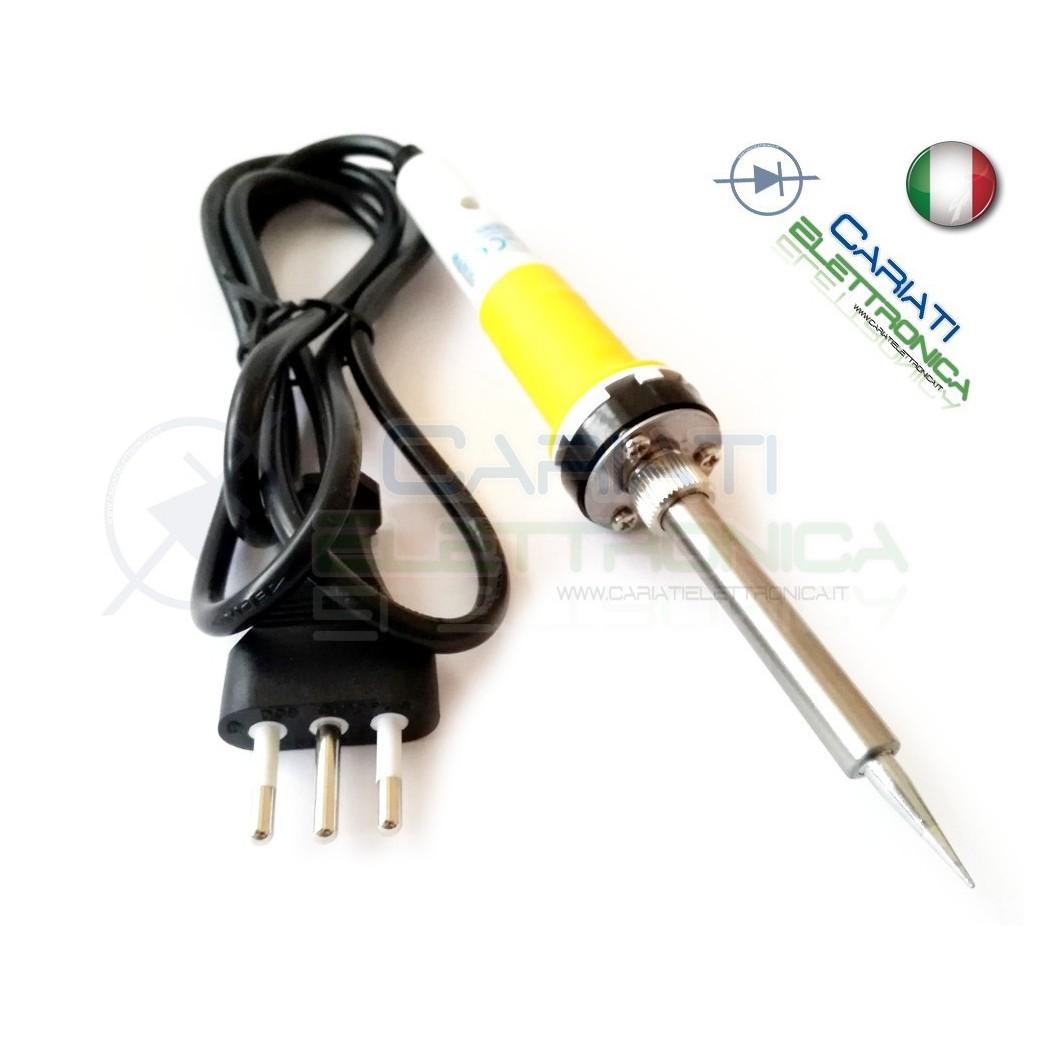 SALDATORE STILO STAGNO 30W 230Vac con Spina italiana  4,99€
