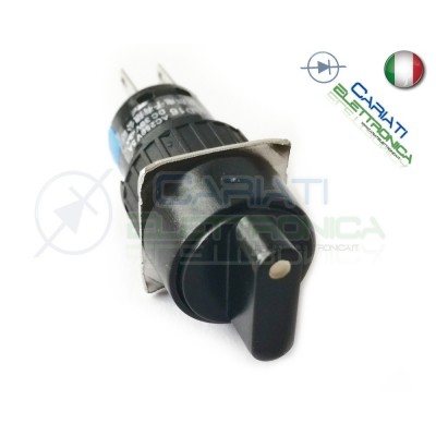 INTERRUTTORE DEVIATORE DP3T ON OFF ON 6 pin  3,49 €