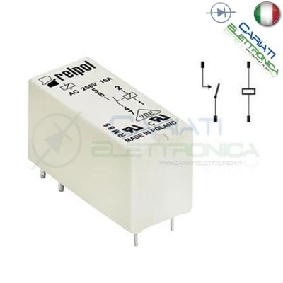 Relay Relè RM85-2021-25-1006 bobina 6V Dc 16A Spst RELPOL Relpol
