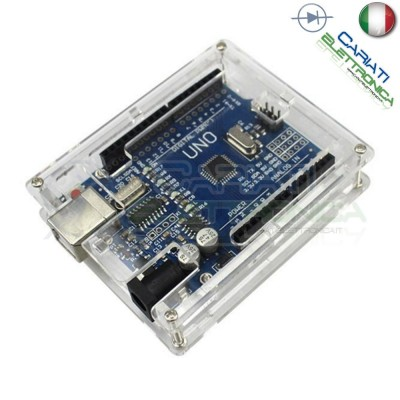 Involucro case scatola contenitore protezione per Arduino UNO BOX