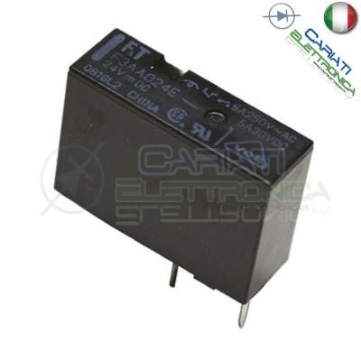 Relay Relè 24V Dc 5A Circuito Stampato Pcb F3AA024E FTR-F3AA024E-HA SPST 1,49 €