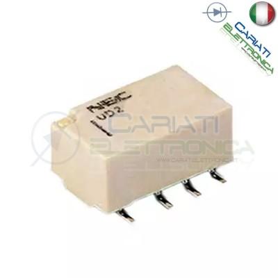Relay Relè doppio 2 scambio NEC UD2-4.5NU 4.5DC 1A DPDT