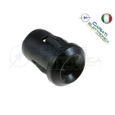 50 PEZZI SUPPORTO PORTA LED 10MM IN ABS PLASTICA NERA 12,00 €