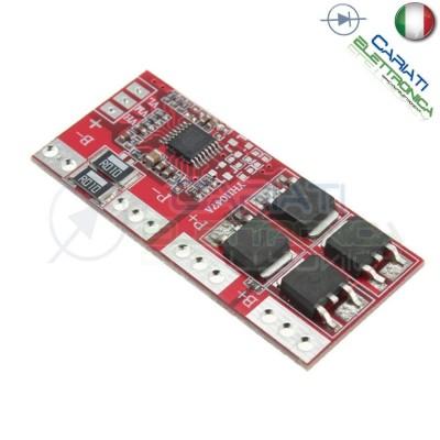 Circuito di protezione per 4 batterie 18650 Litio PCB battery 14.4V 14.8V 16.8V 15AGenerico