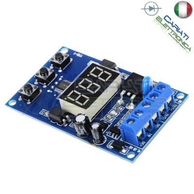 Scheda modulo temporizzatore timer multifunzione MOS 5V 12V 24V 30V con display