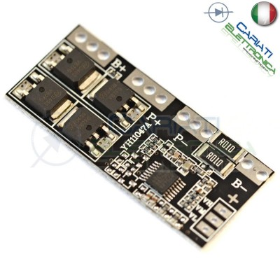 Circuito di protezione per 4 batterie 18650 Litio Li-ion PCB battery 16.8V 15A  4,50 €