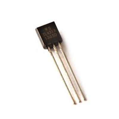 10 PEZZI TL431A TO-92 REGOLATORE DI TENSIONE 2.5-36V Programmable Voltage TL431